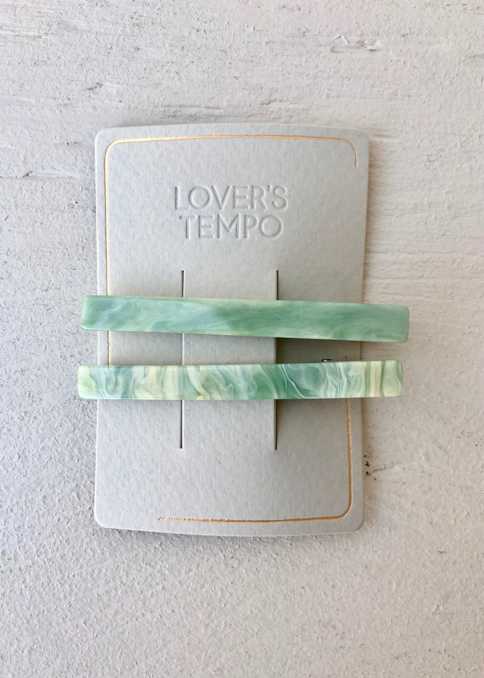 Lover's Tempo Paquet de 2 barrettes 'Florence'