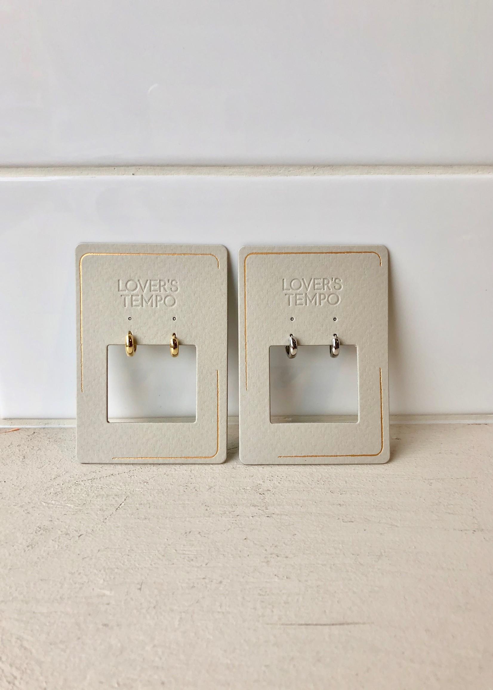 Bea Hoop 10mm Earrings