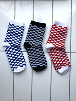 Empire Exchange Checker board Socks