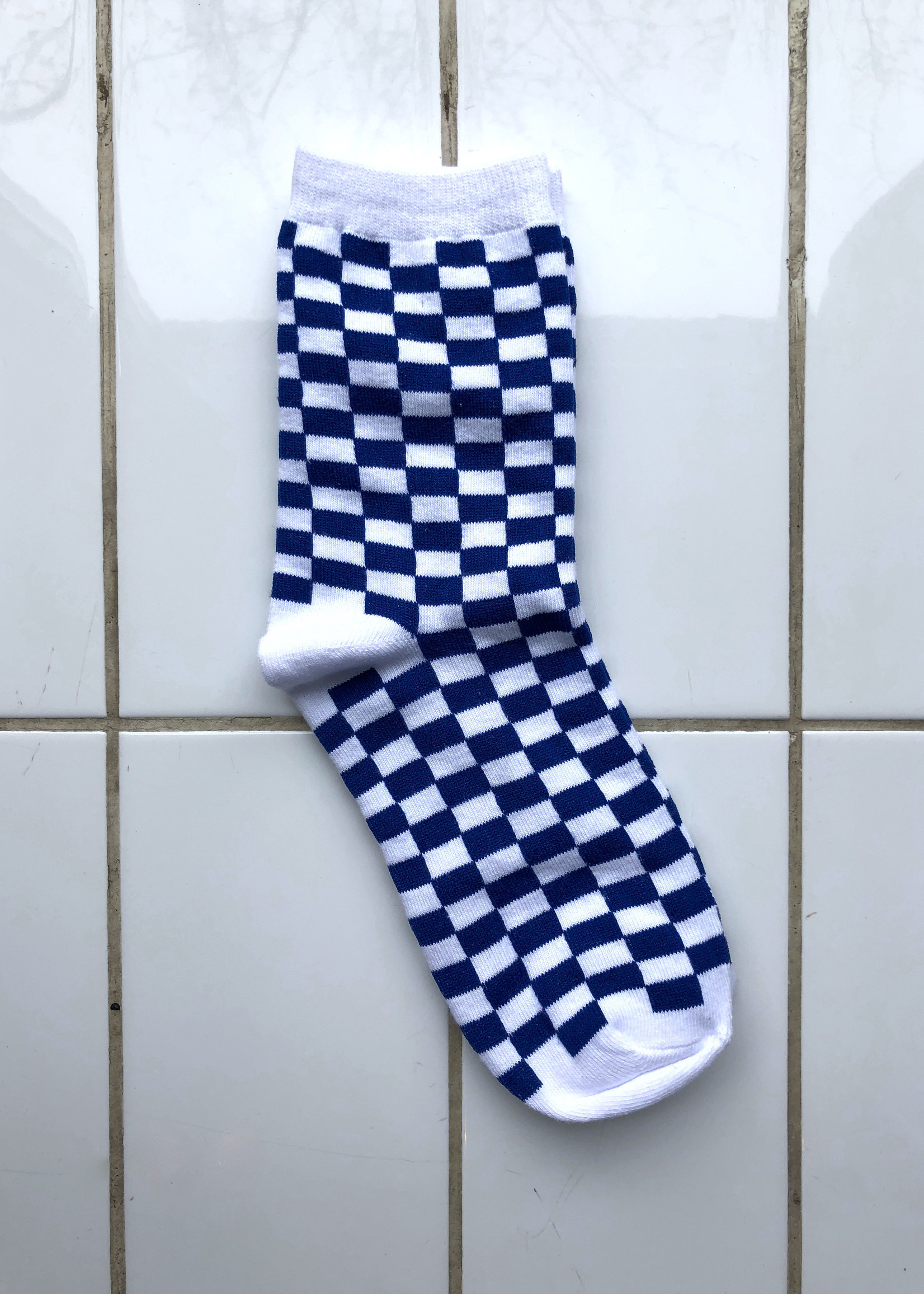 Empire Exchange Checker board Socks