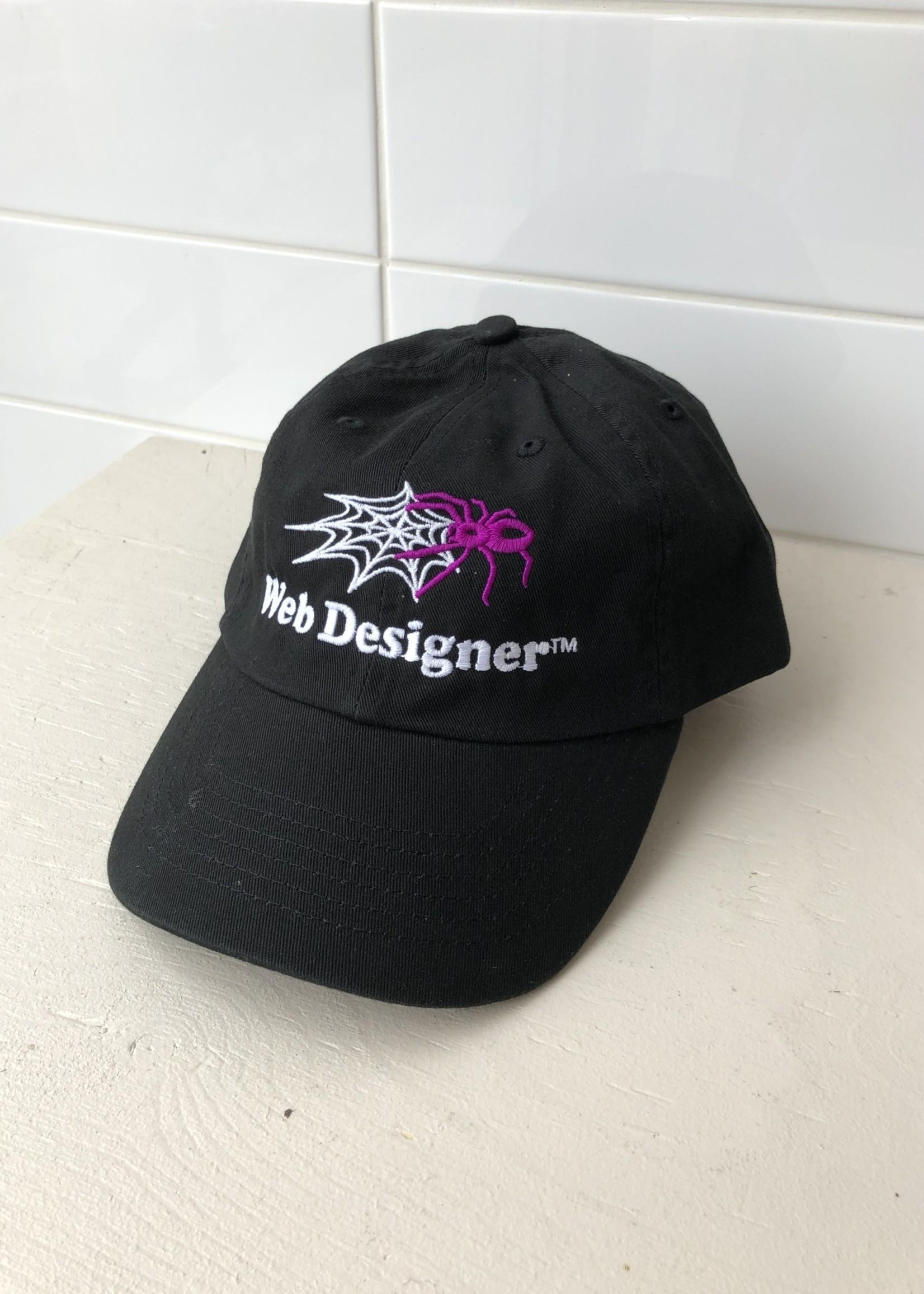 "Crush Club Press Casquette ""Web Designer"""