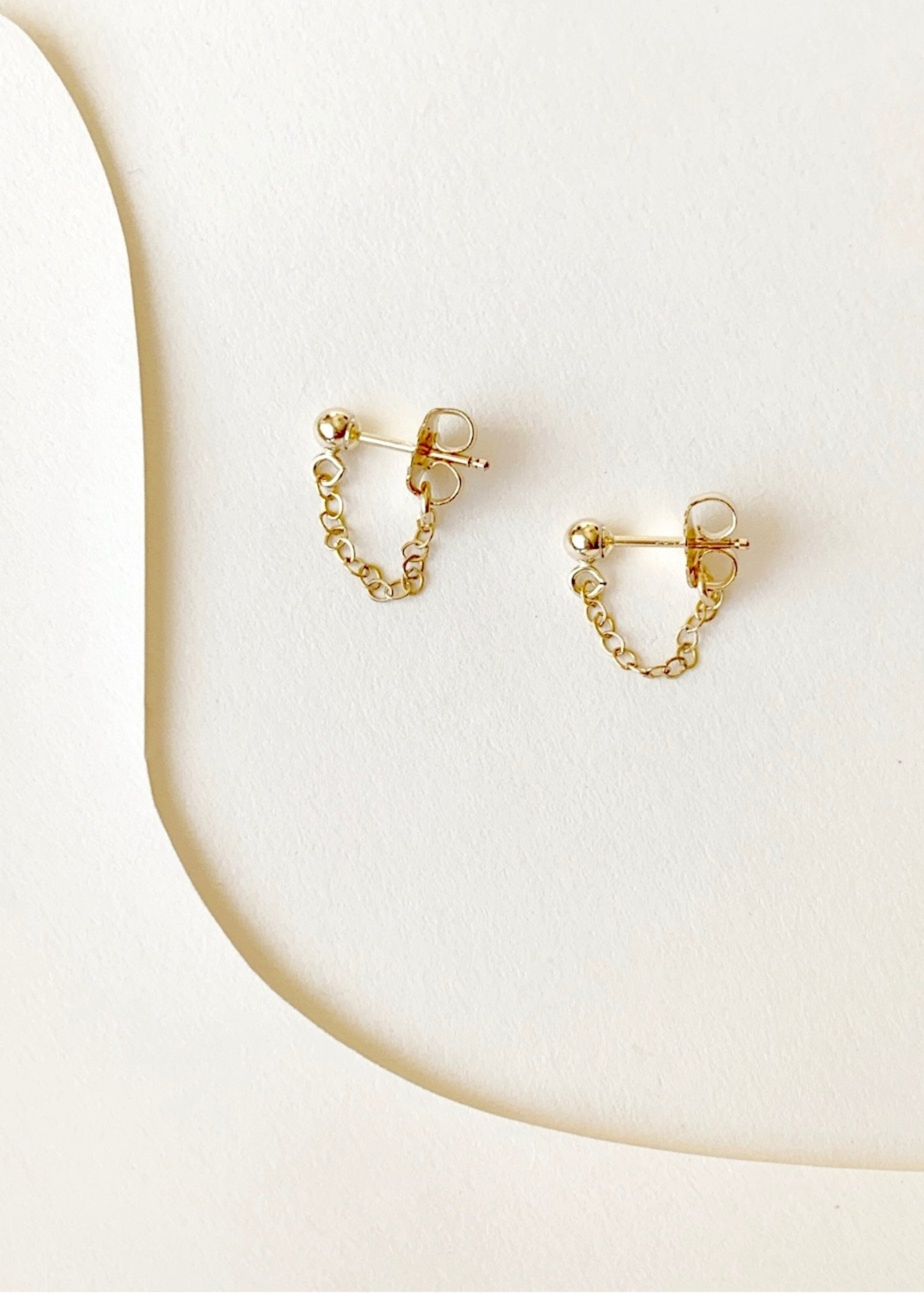 Highlow Jewelry Swing Gold Filled Earring