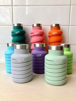 que Bottle 20oz Collapsible Silicone Bottle