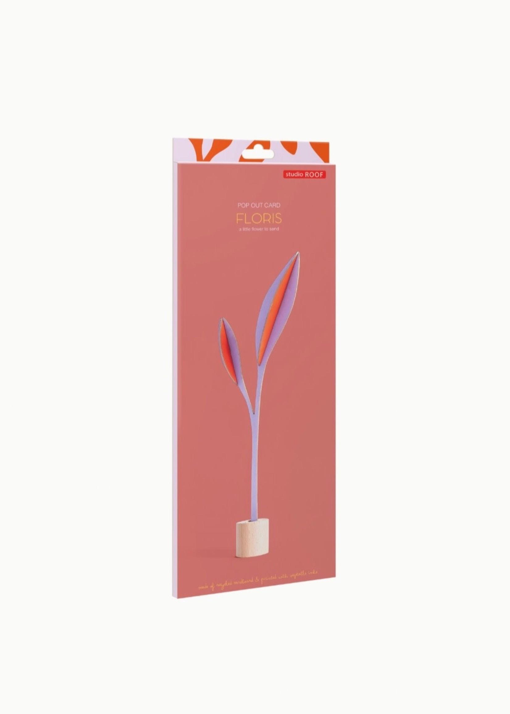 Studio Roof Fleur en carton 'Pop Out'