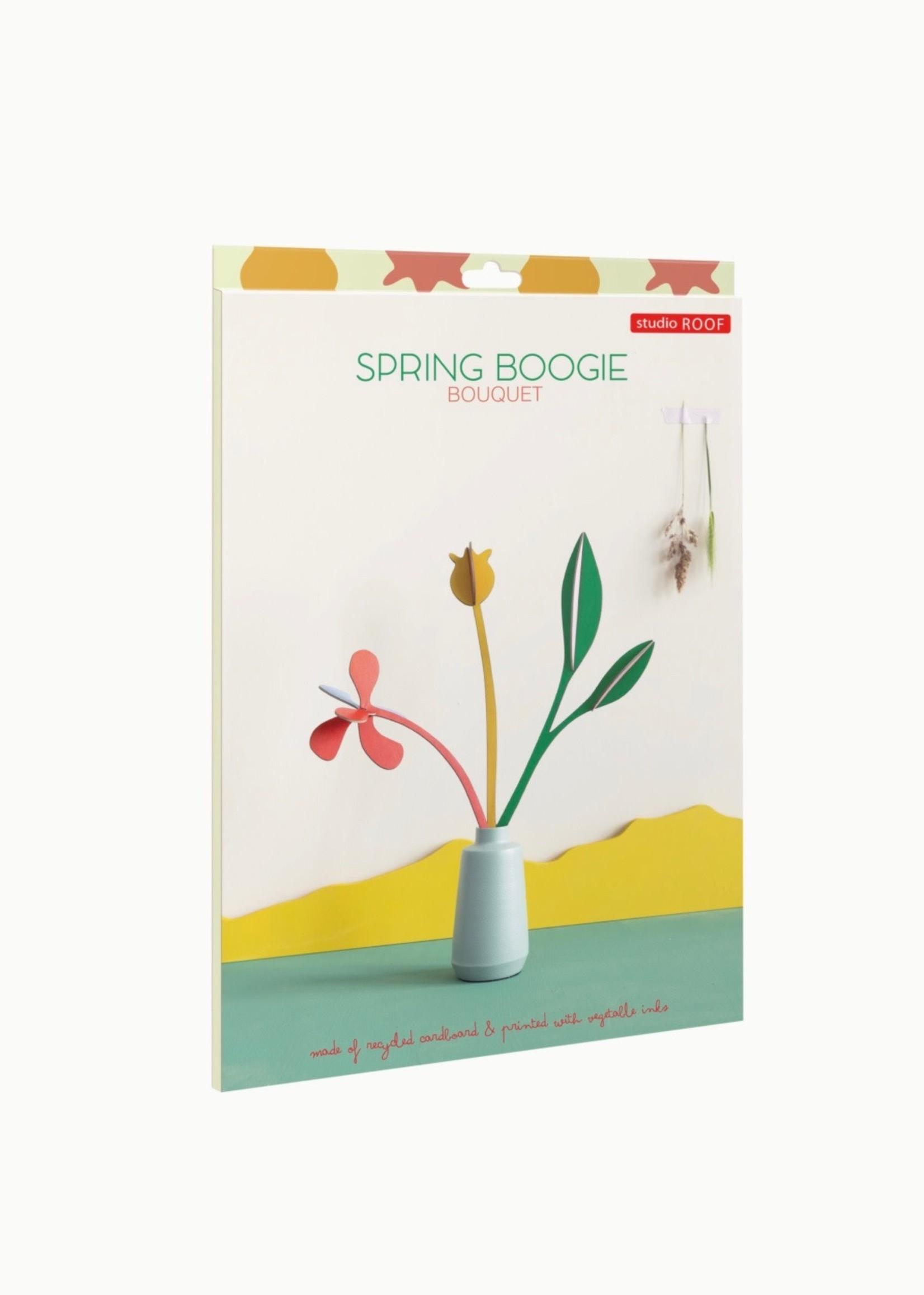 Studio Roof Bouquet en carton