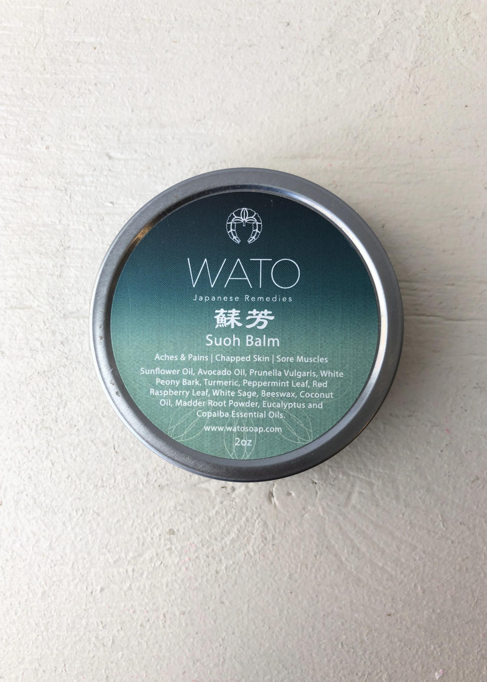"Wato Soap Baume anti-douleur ""Suoh"""