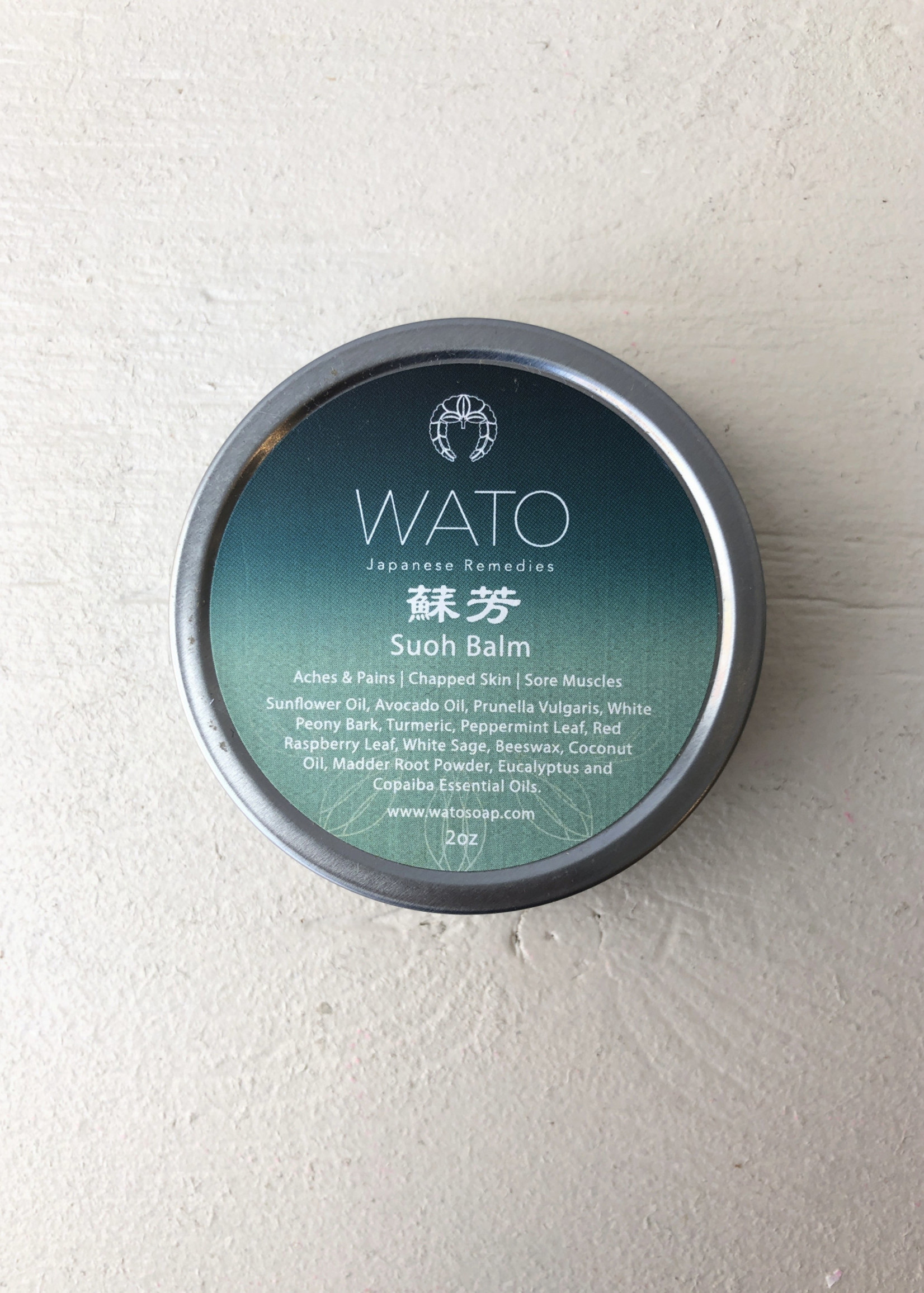 Wato Soap Suoh Pain-relieving Balm