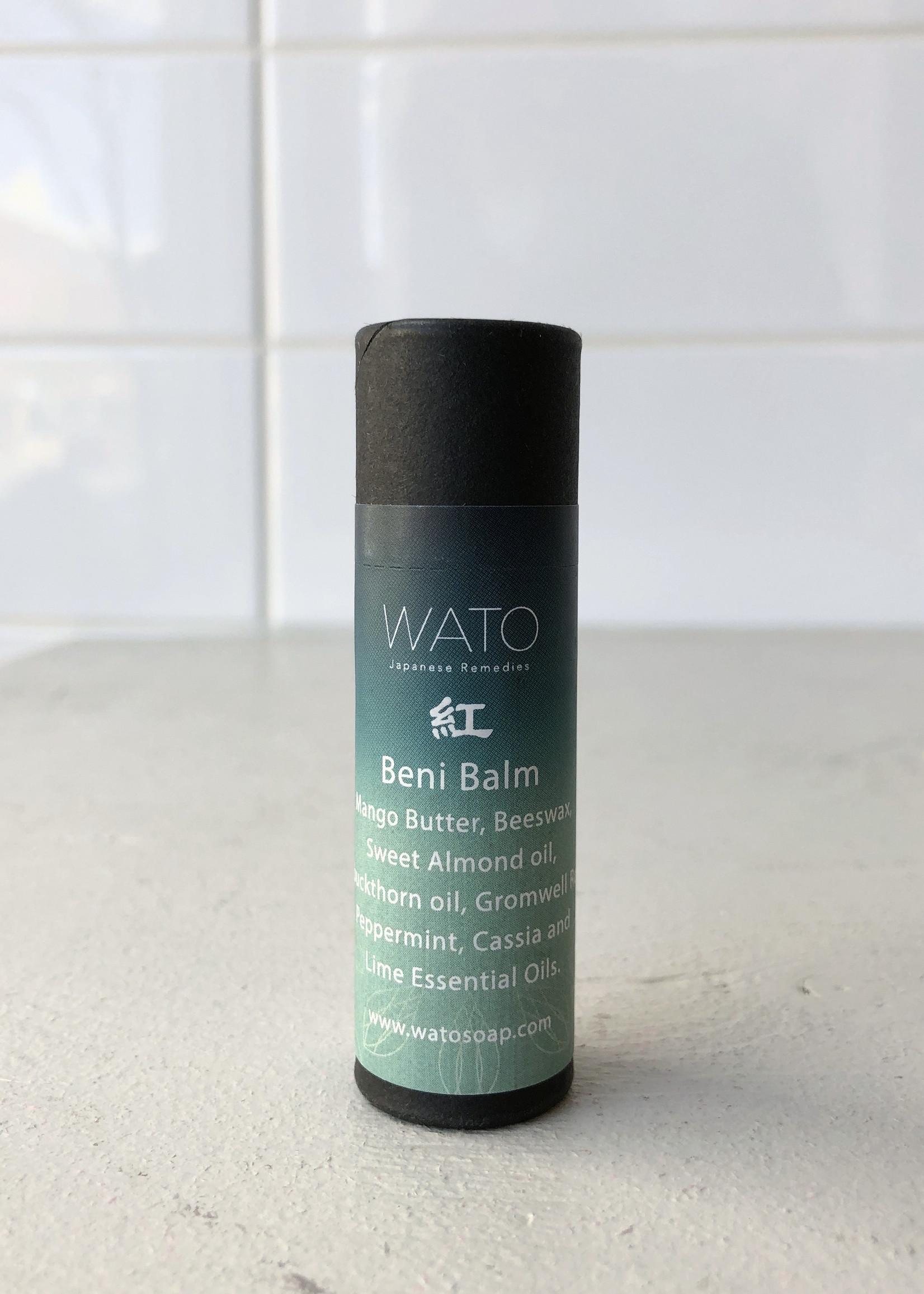 Wato Soap Beni Lip  Balm