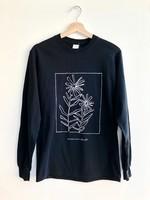 Les Beaux Jours Long sleeve T-shirt Flowers