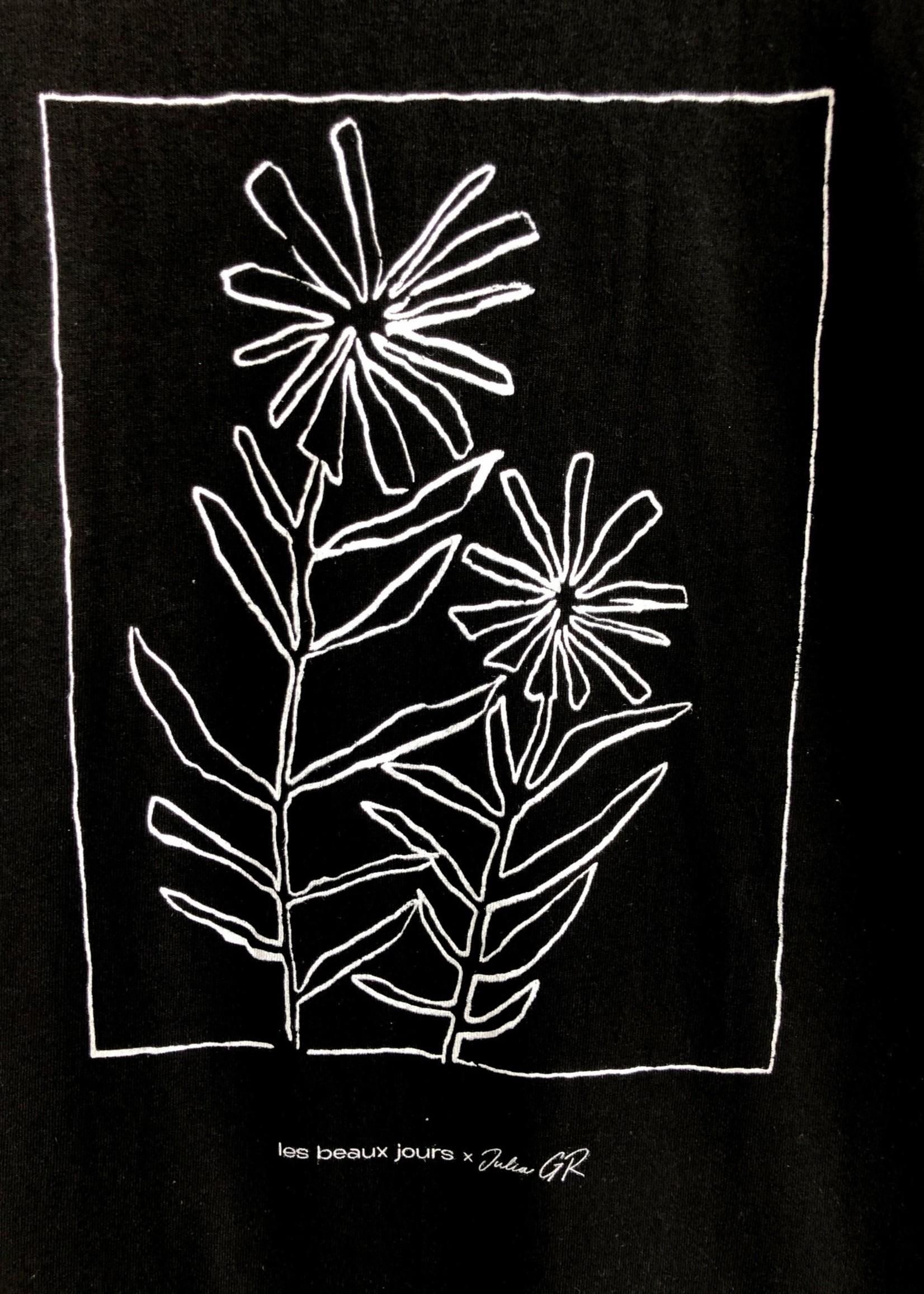 Les Beaux Jours T-shirt manches longue Fleurs
