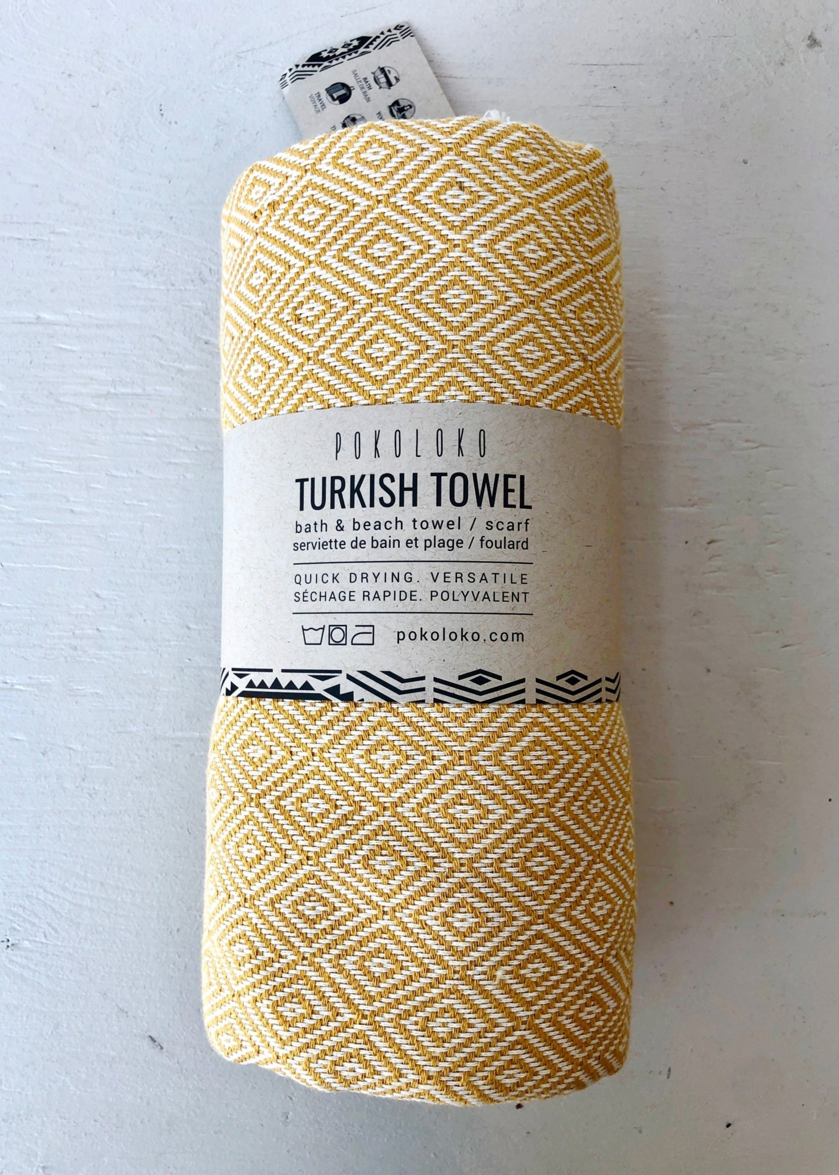 Pokoloko Diamond Turkish Towel by Pokoloko