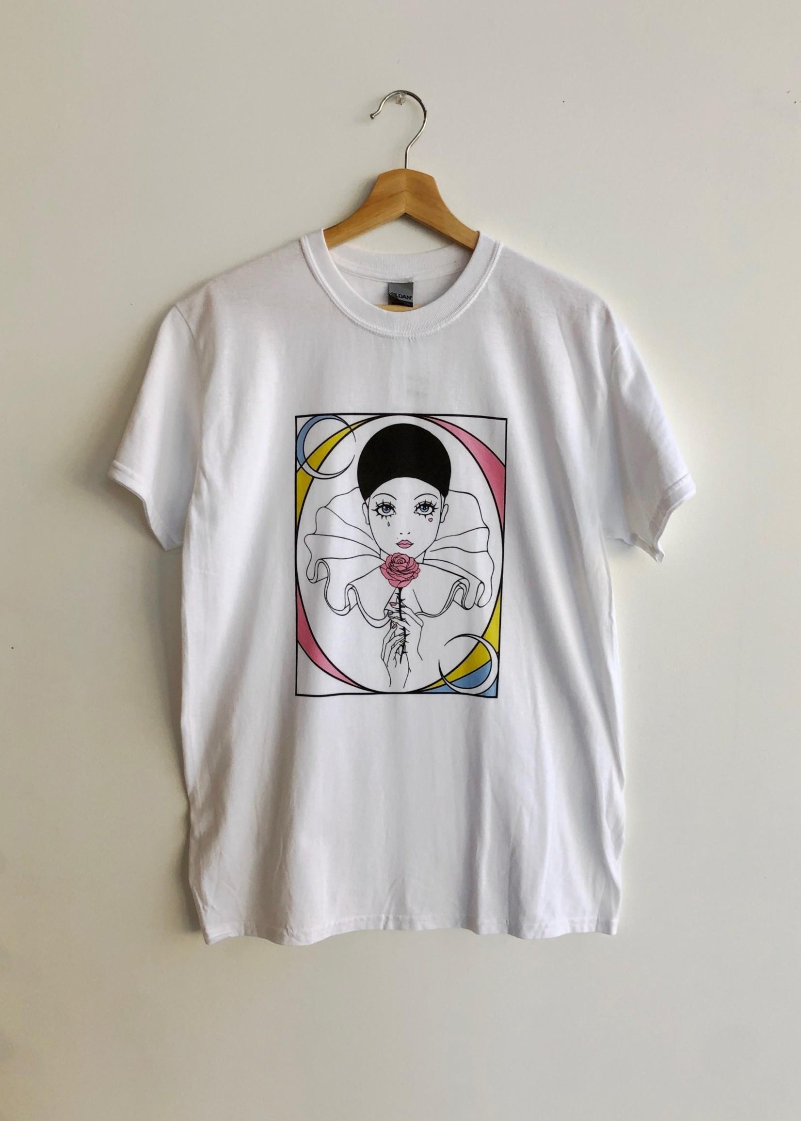 "Ephemiris Apparel T-shirt ""Pierrot"" par Ephemiris"