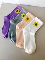 Empire Exchange Sunflower Socks