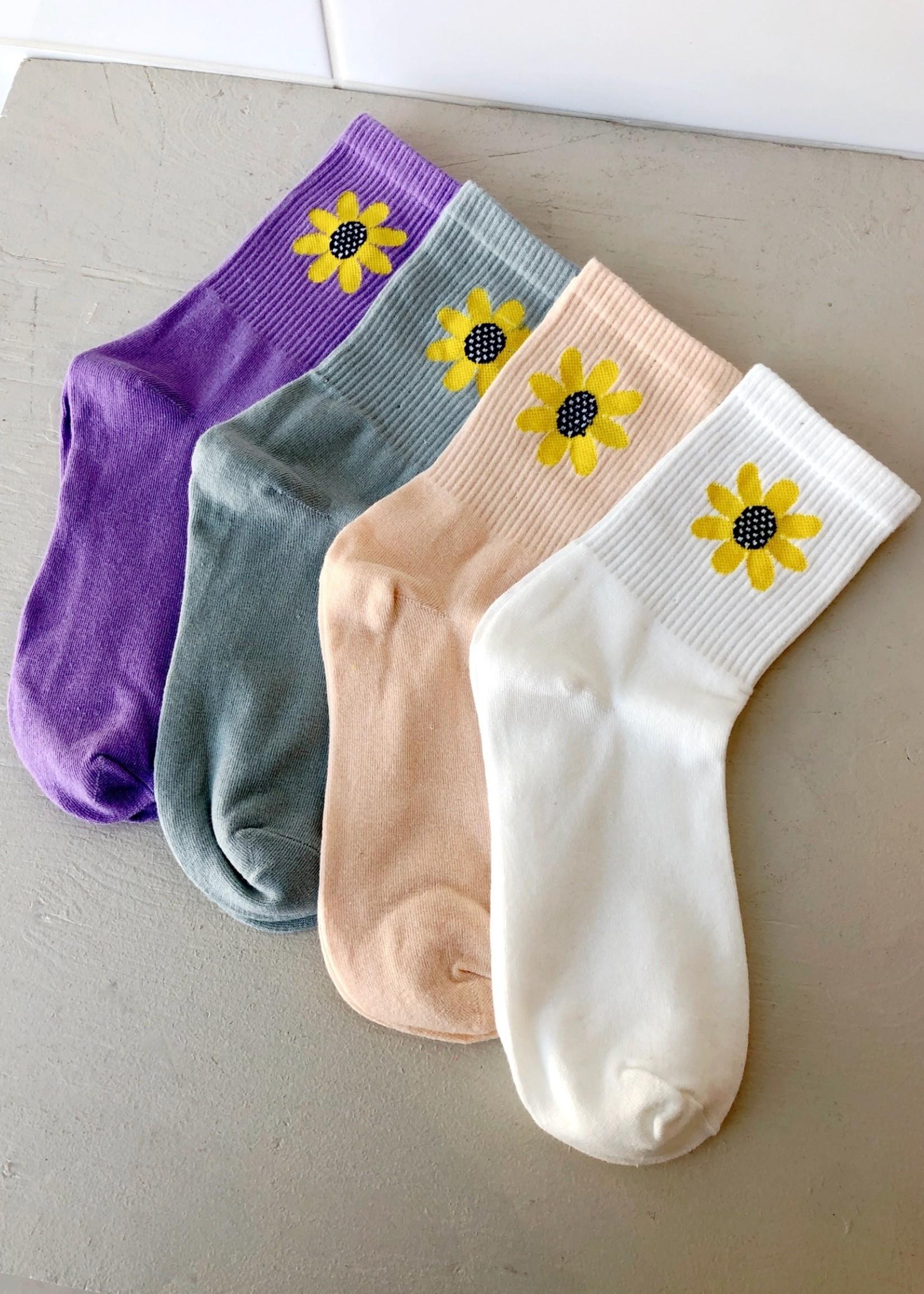 Empire Exchange Sunflower Socks by Empire Exchange
