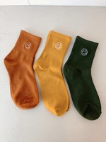 Empire Exchange Smiley Socks