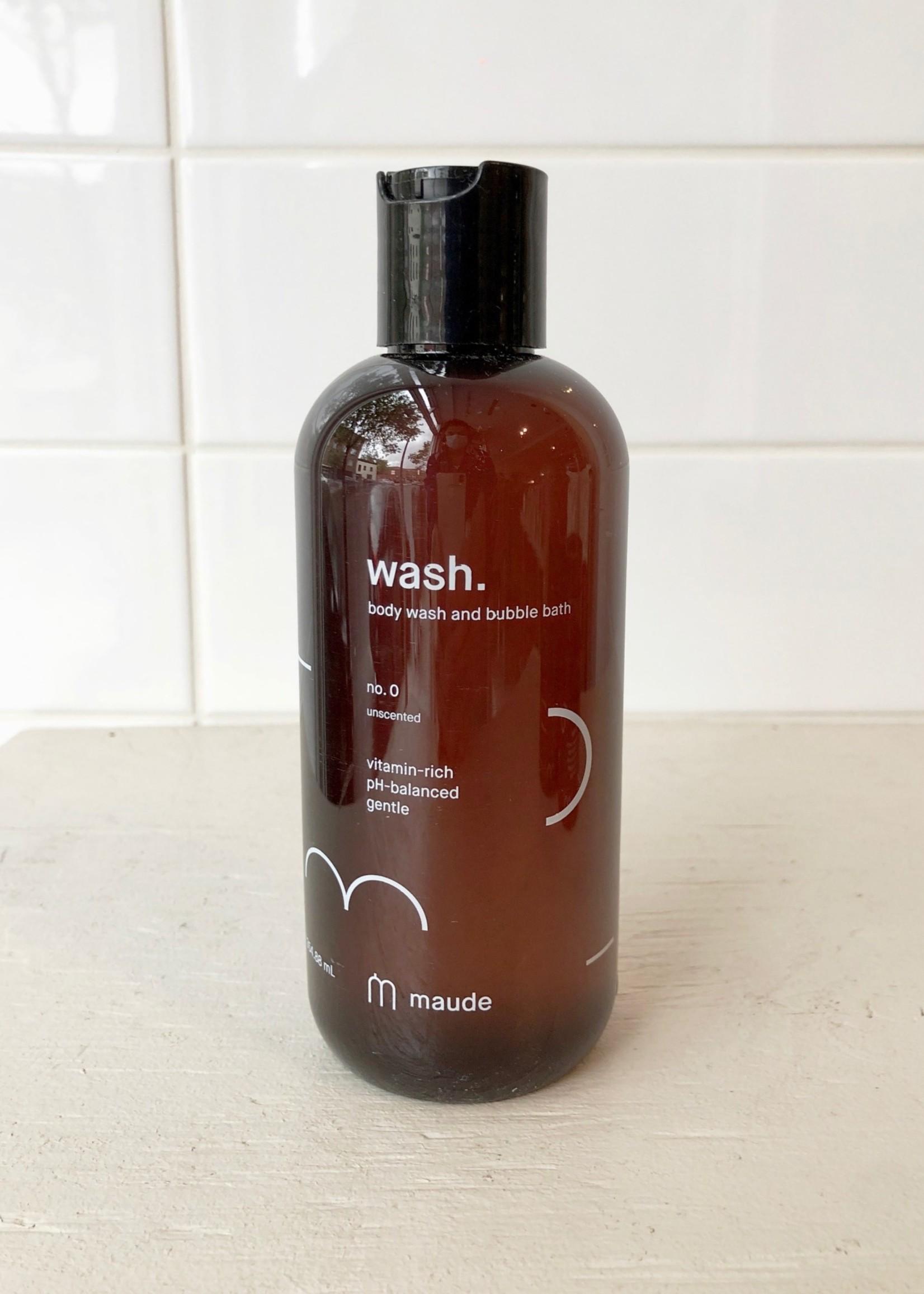 Maude Body Wash and Bubble Bath No. 0 by Maude