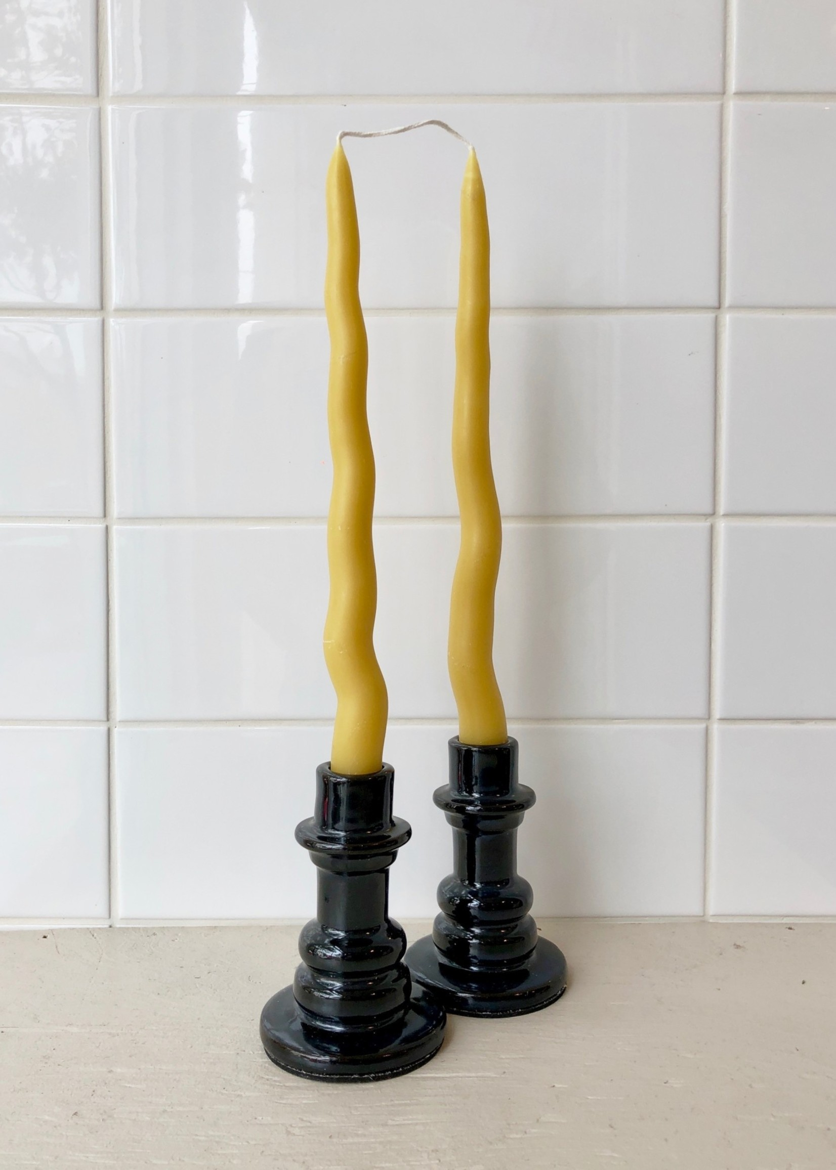 Magwood Candles Thea Pair of Beeswax Tapers by Magwood
