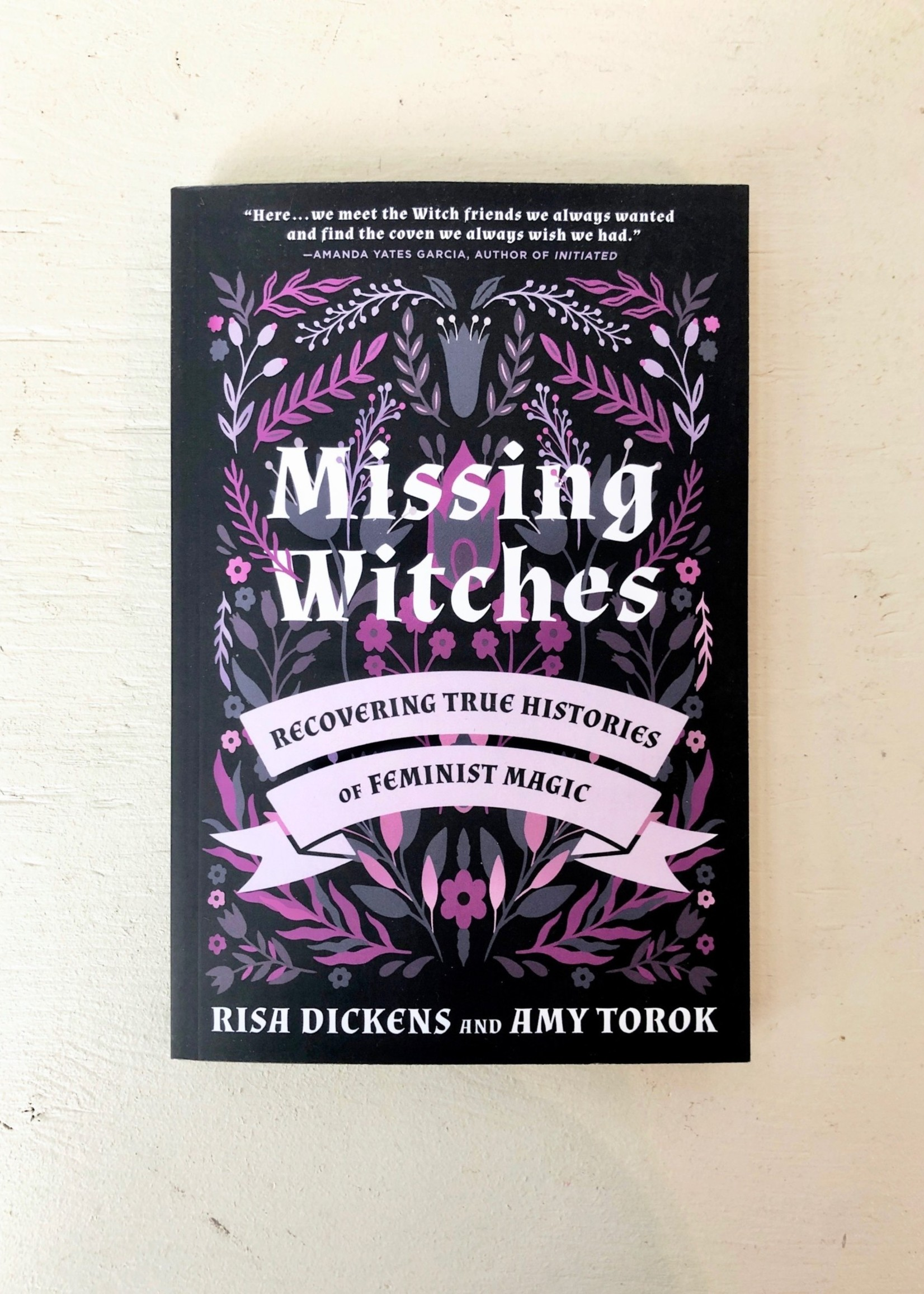 """Risa Dickens and Amy Torok """"Missing Witches"""" by Risa Dickens and Amy Torok"""