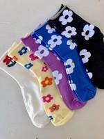 Annex Vintage Chaussettes à fleurs
