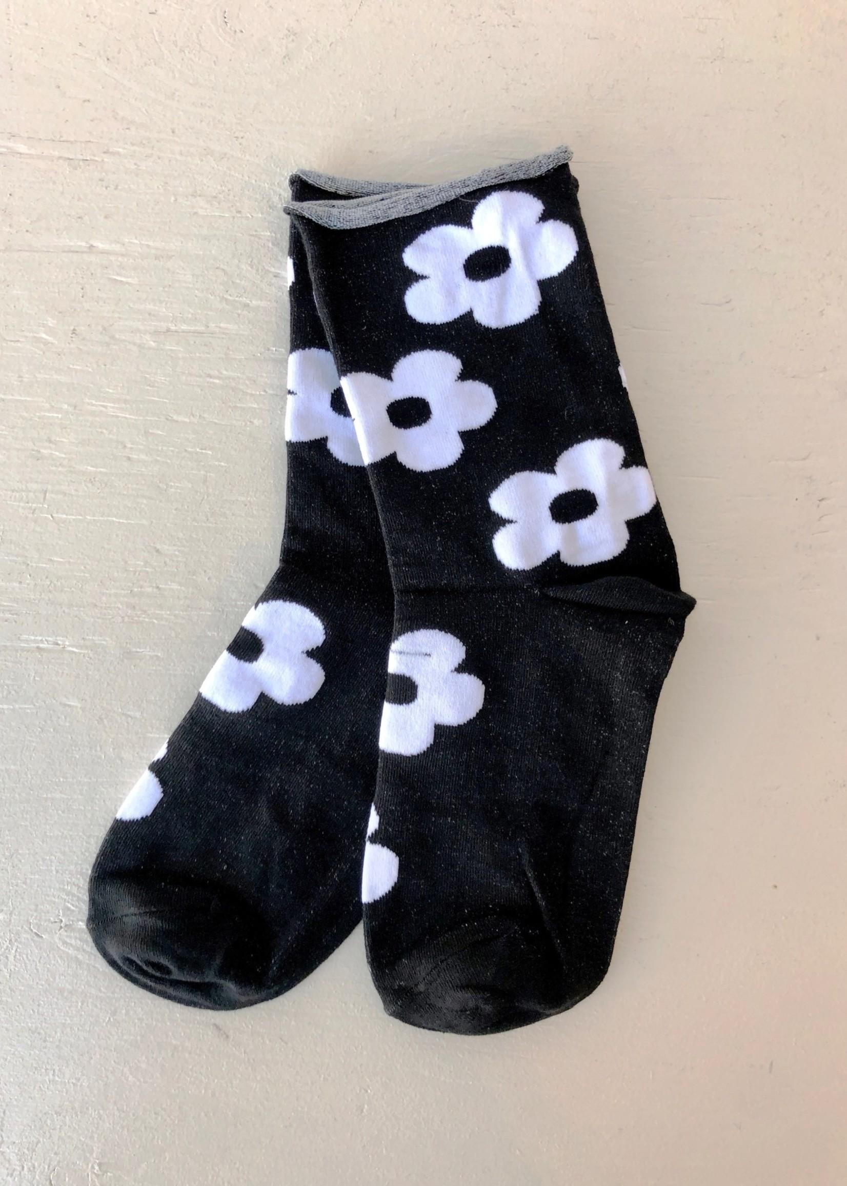 Annex Vintage Flower Socks by Annex Vintage