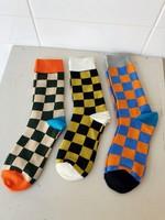 Annex Vintage Checkerboard Socks