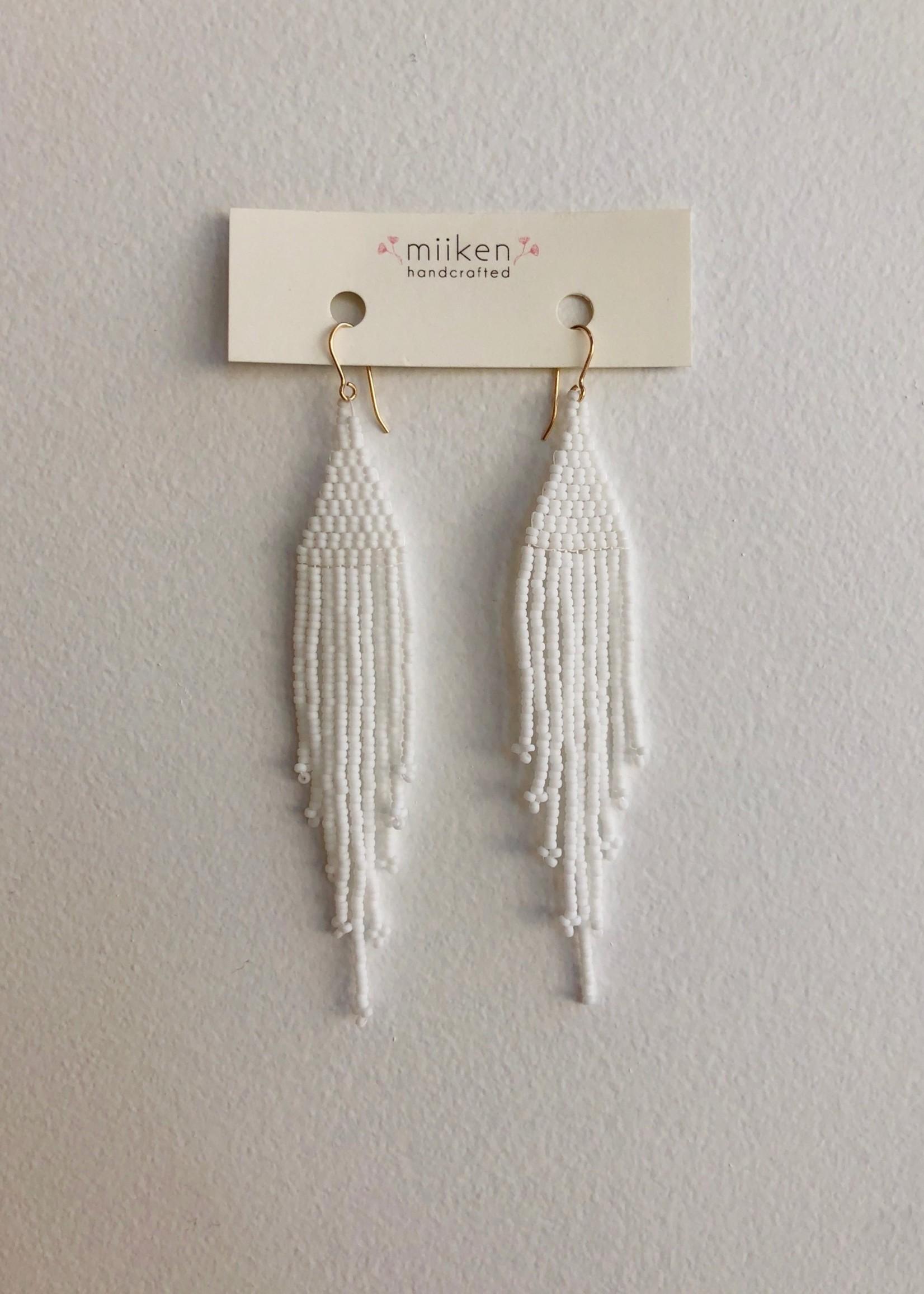 Miiken Handcrafted Fringe Earrings by Miiken Handcrafted