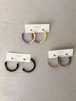 Miiken Handcrafted Hoops Earrings