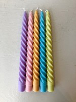 Paddywax Pair of Twisted Candles