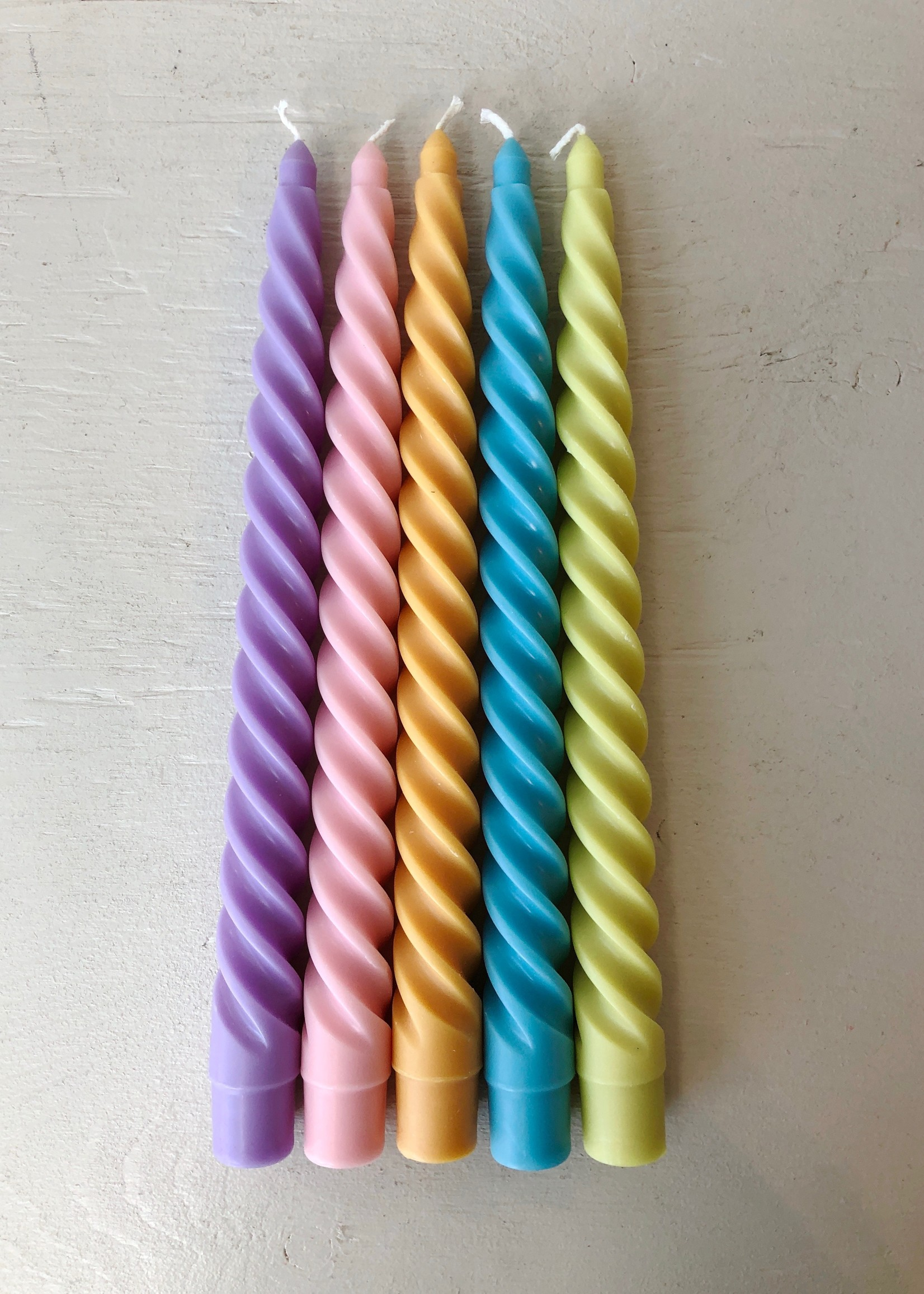 Paddywax Pair of Twisted Candles by Paddywax