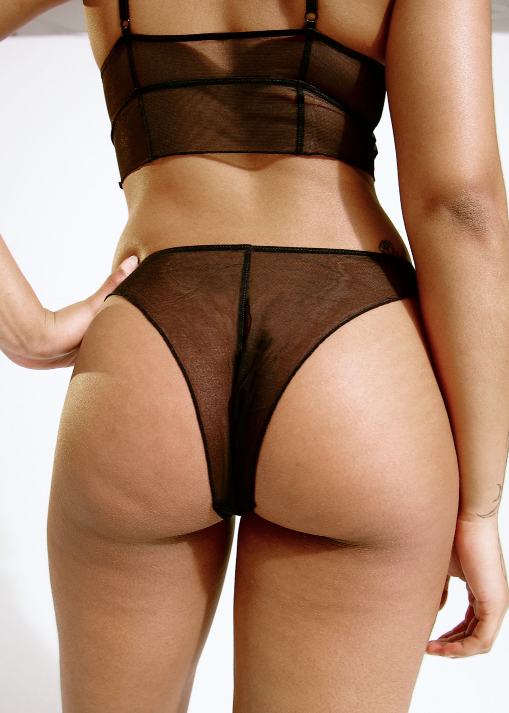 Blush Lingerie Linger High Leg Bikini by Blush
