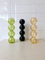 Annex Vintage Bubbles Glass Vase