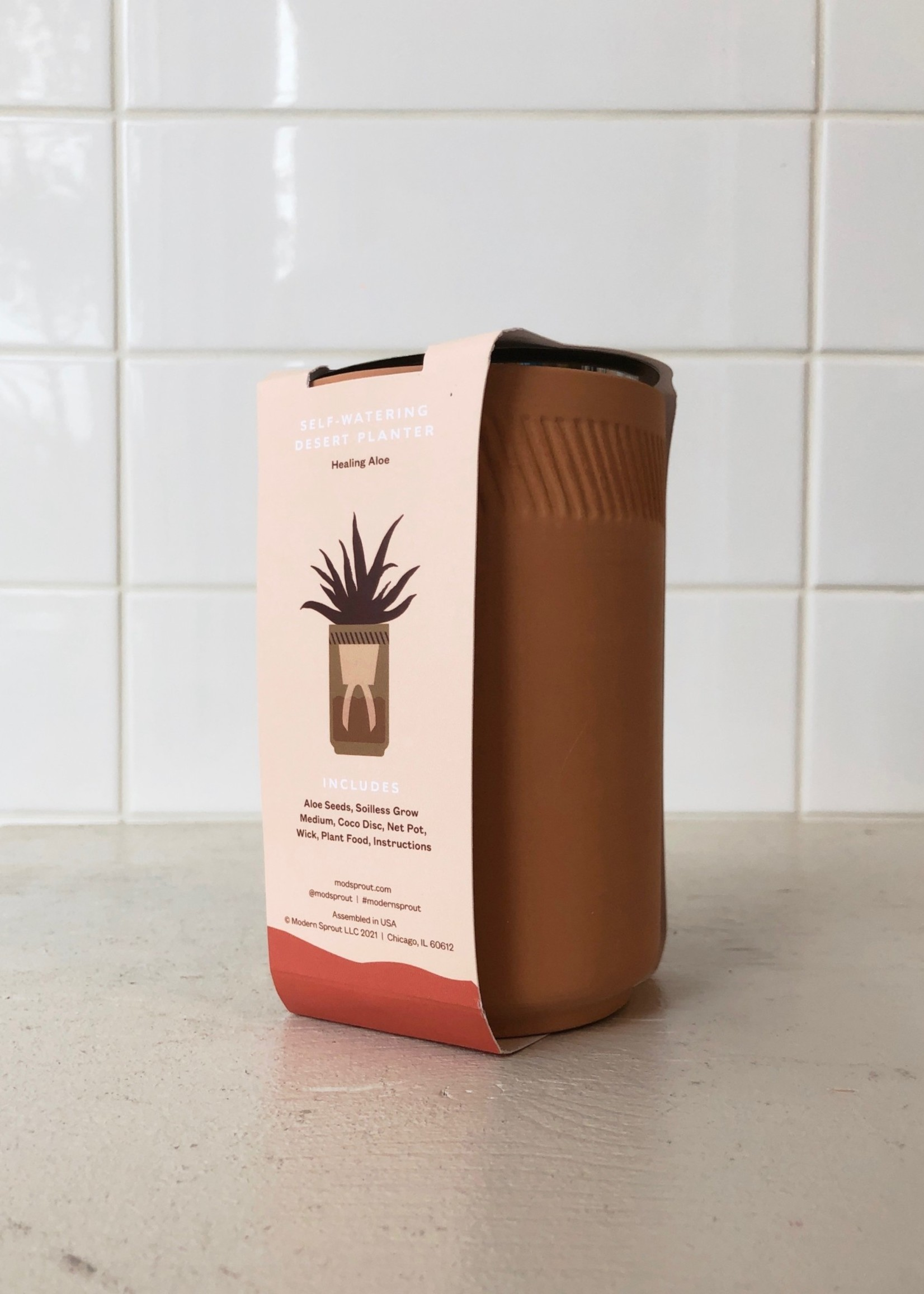 Modsprout Kit de jardin en terracotta par Modern Sprout
