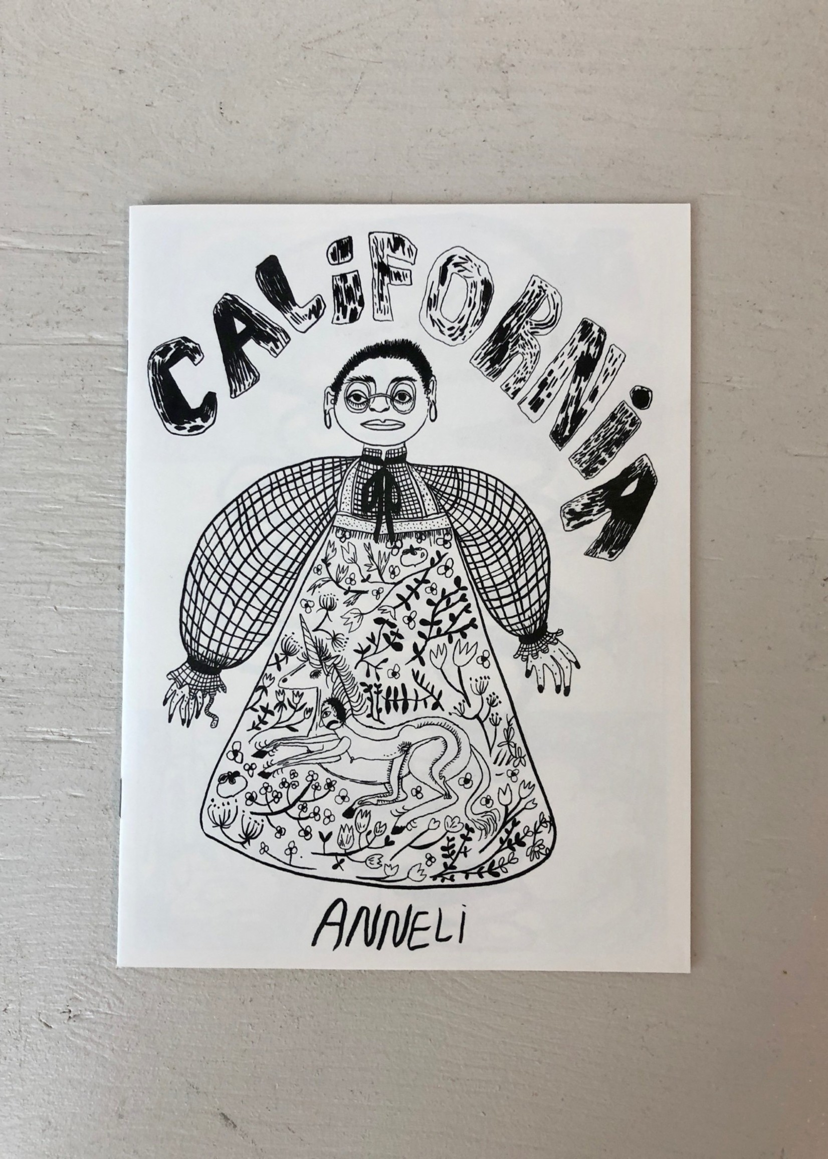 "Caboose ""California"" Zine by Anneli Henriksson"