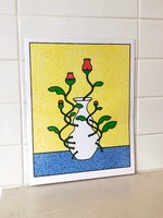 """Caboose """"That's a Cool Vase"""" Print"""