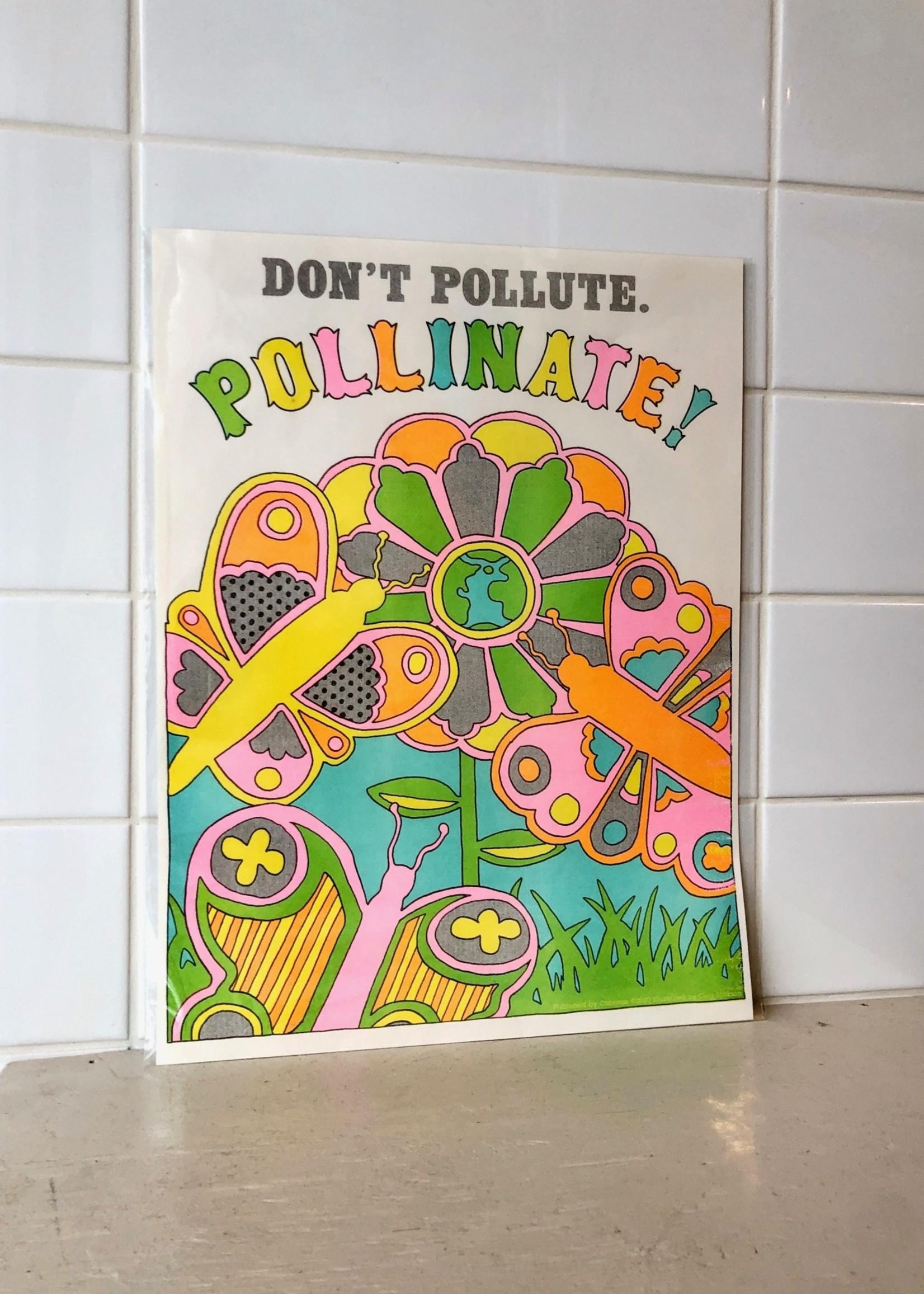"""Caboose Affiche """"Pollinate!"""" par Caboose"""