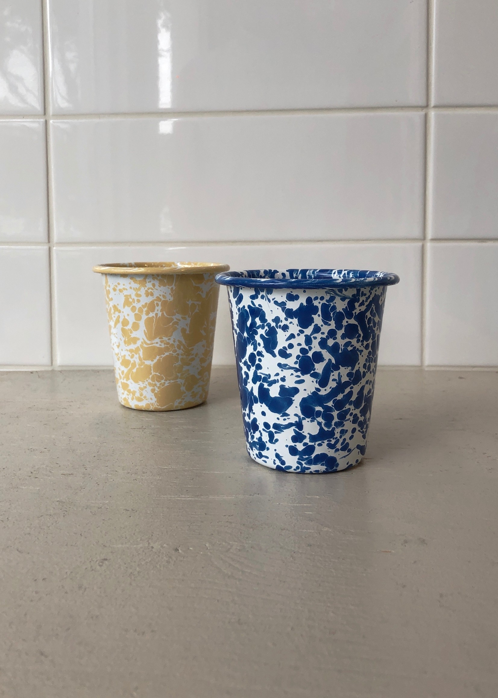 Crow Canyon Home Enamel Cups
