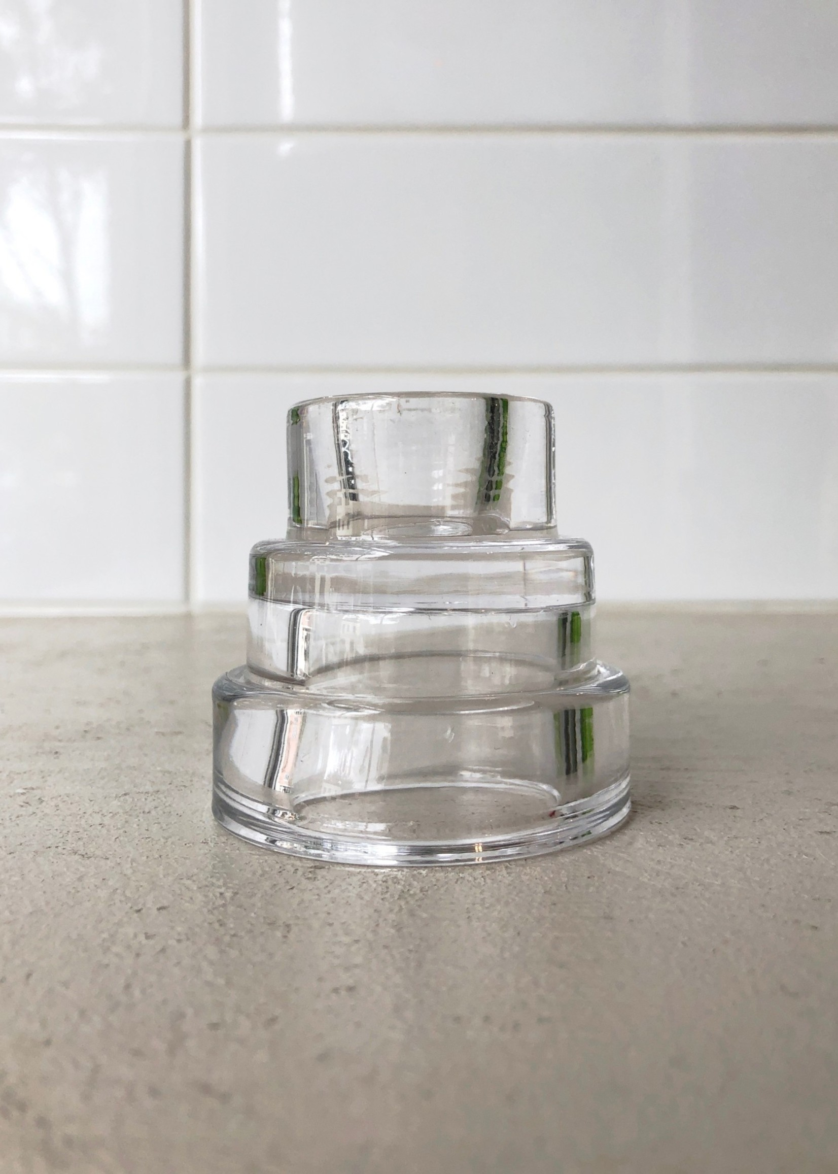 Areaware Mesa Glass Candle Holders by Areaware