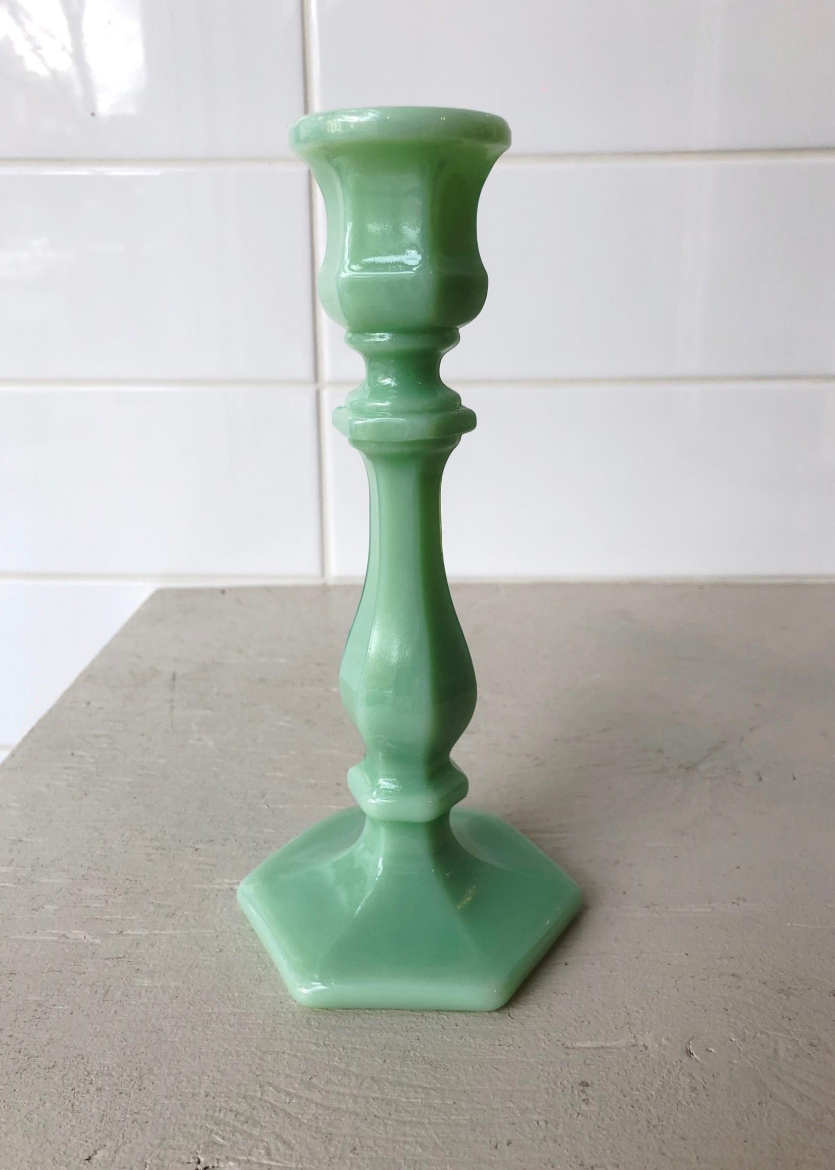 Mosser Glass Glass Candlesticks by Mosser