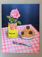 """Anna May Henry """"Love You"""" Riso Print"""