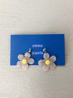Emma Jewels Opal Daisies Earrings