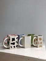 Hexagon Ceramic Mugs
