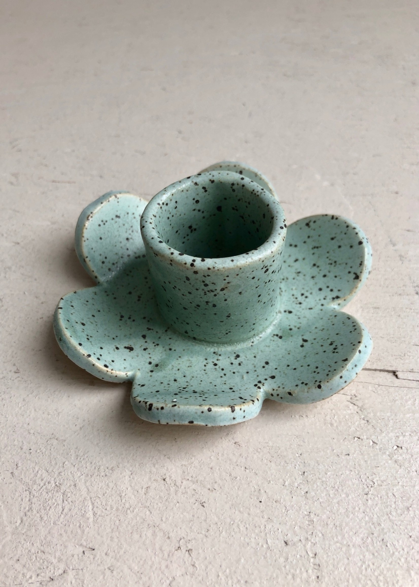 Minipott Ceramic Daisy Candle Holders by Minipott