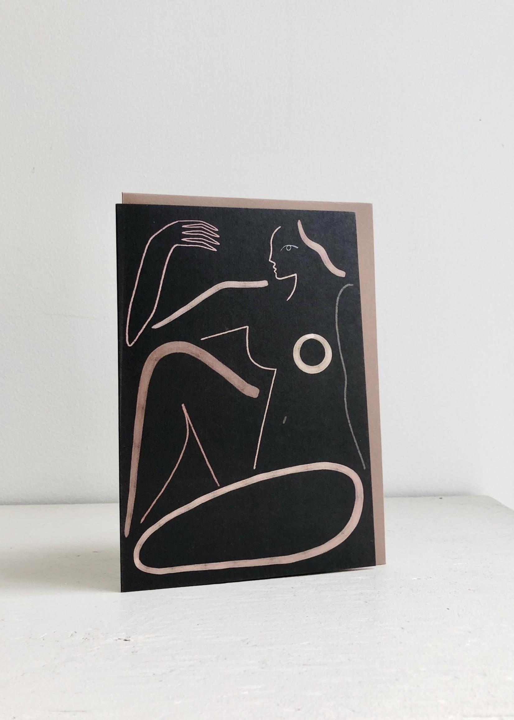 Wrap Stationery Kit Agar Greeting Cards by Wrap Stationery