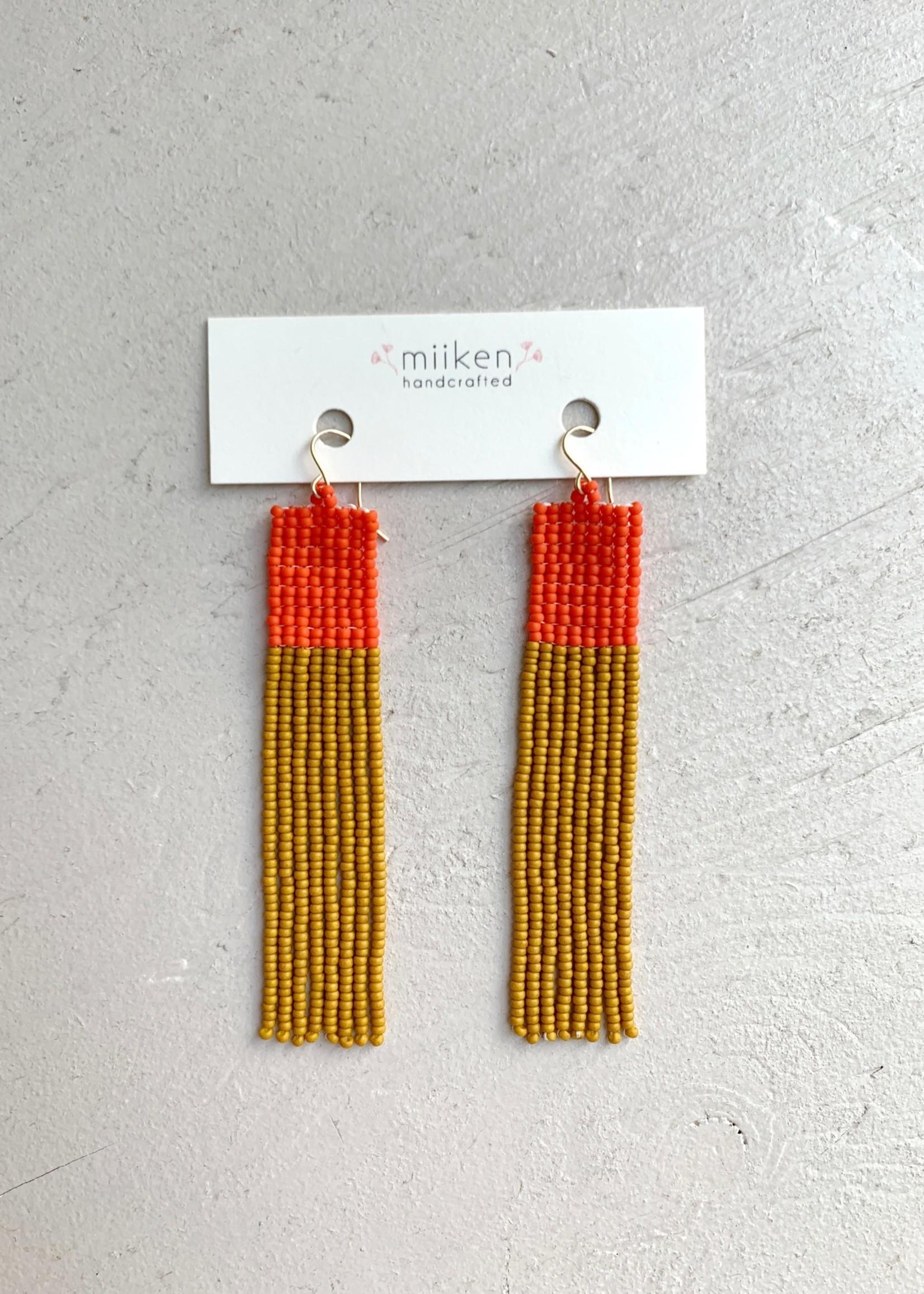 "Miiken Handcrafted Boucles d'oreilles ""Fringe"" par Miiken Handcrafted"