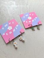 Emri Studio Fruit Hoop Earrings