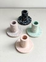 Razzo Studio Terrazzo Style Candle Holders