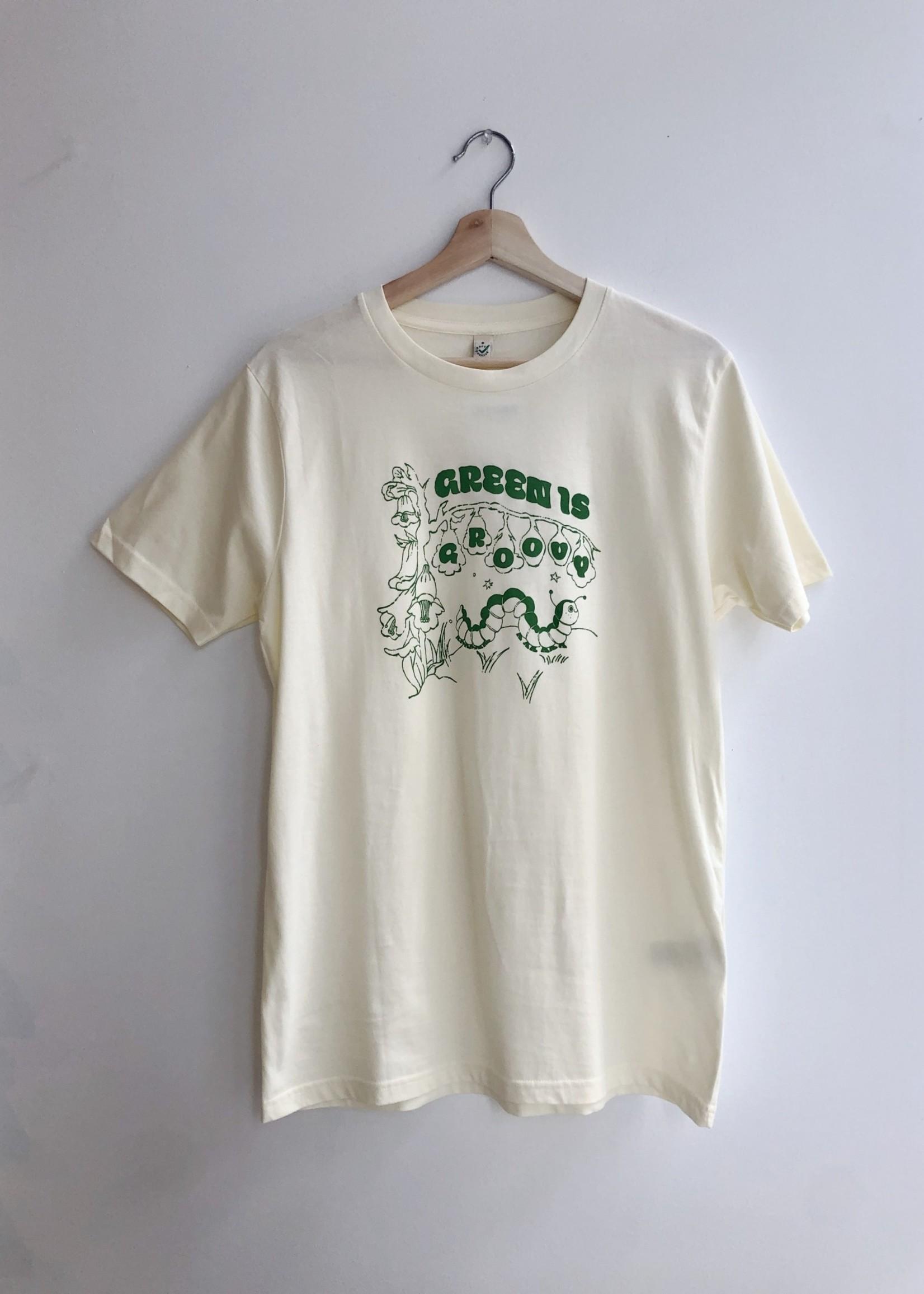 "Hannah-Michelle T-shirt ""Green is Groovy"" par Hannah-Michelle"