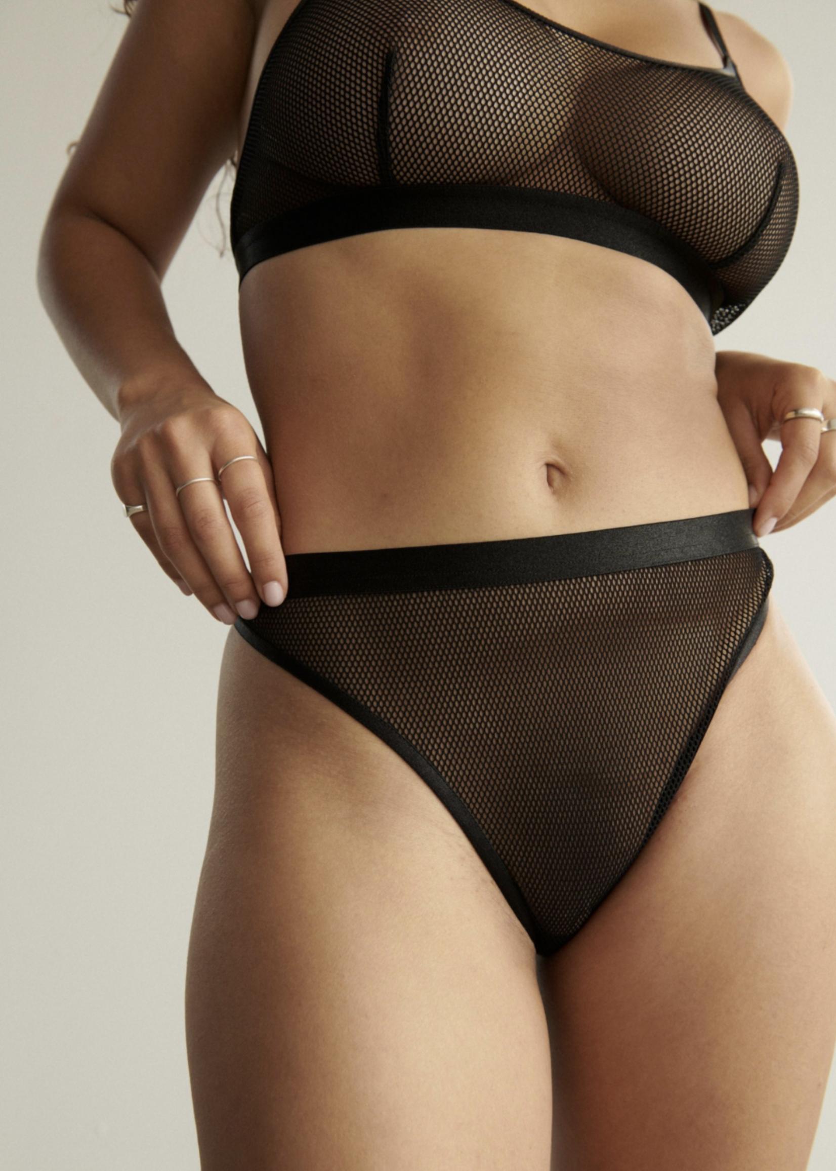 """Blush Lingerie Bikini échancré """"Haze Fishnet"""" par Blush Lingerie"""