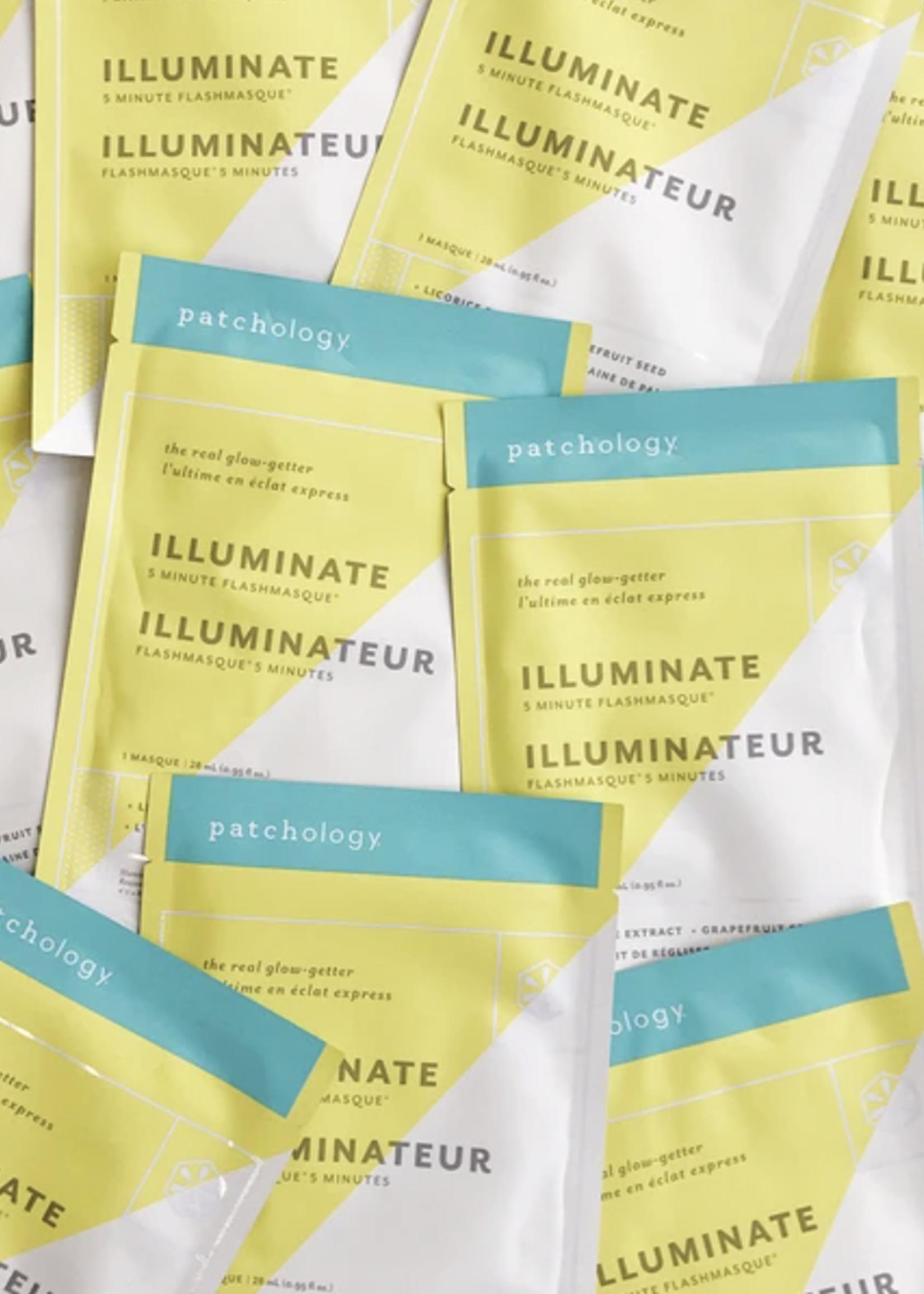 Patchology Illuminate 5-Minute Flashmasque by Patchology