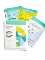 """Patchology Flashmasque Trio """"Perfect Weekend"""""""